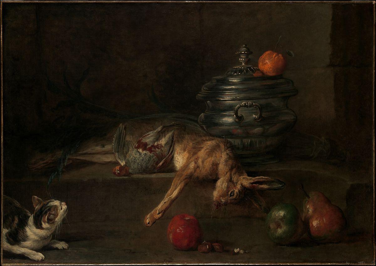 Jean-Baptiste-Siméon Chardin : Guide des peintures de Chardin