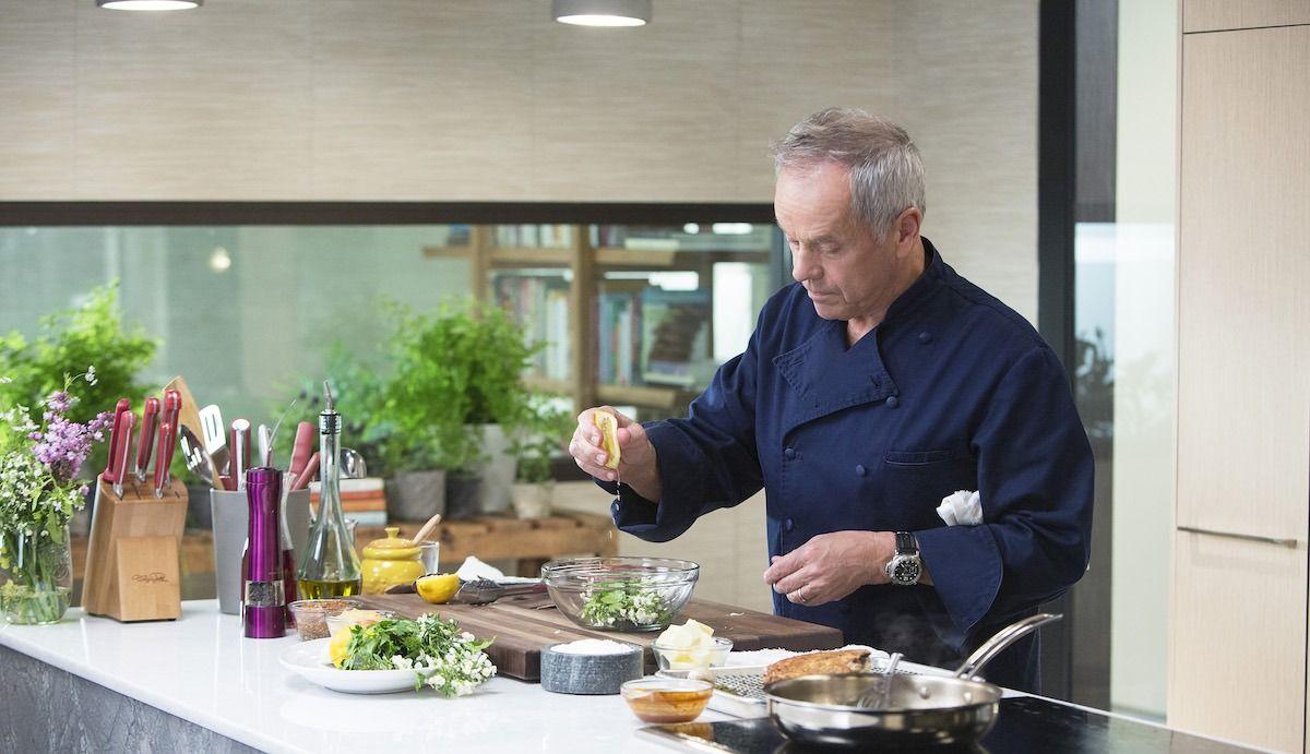 Explorez les recettes et livres de cuisine signature de Wolfgang Puck