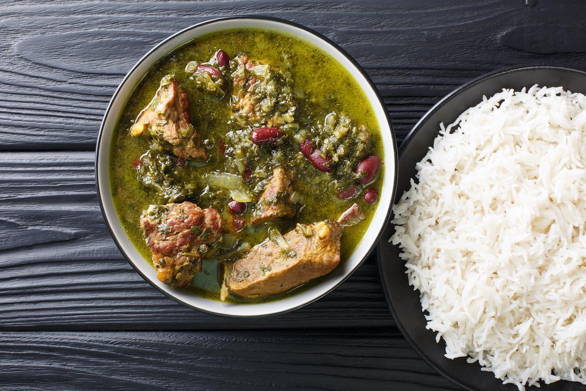 Ghormeh Sabzi Recept: varivo od perzijskog bilja s govedinom