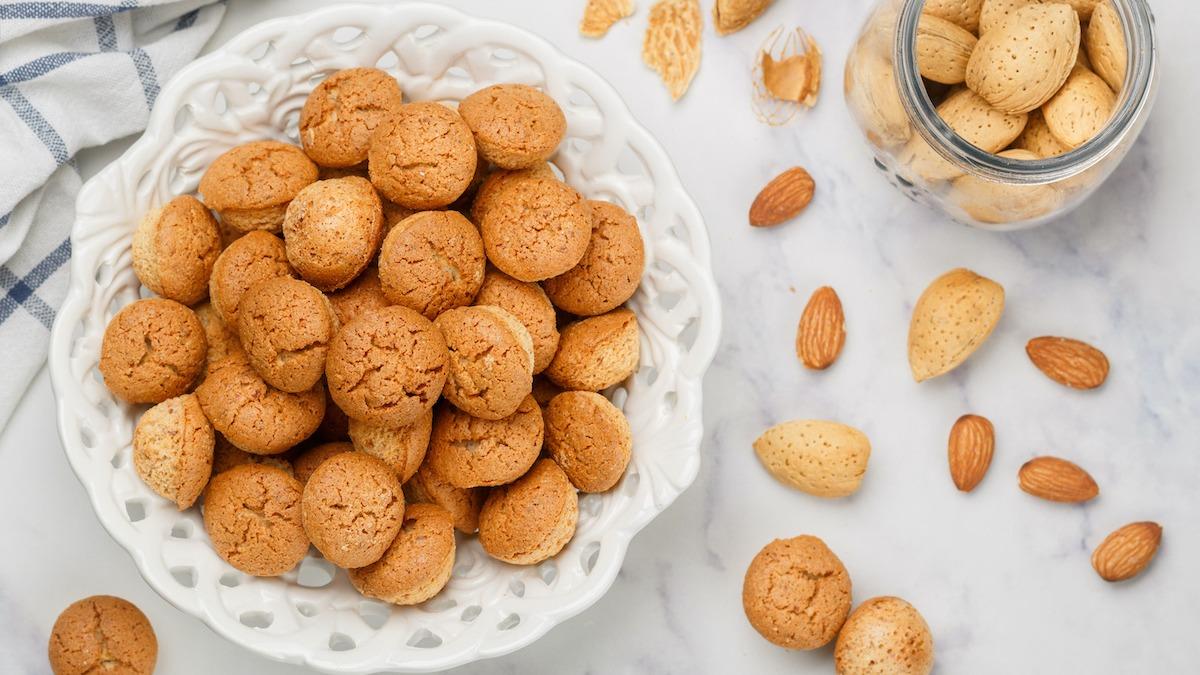 Recette de biscuits amaretti : comment faire des biscuits amaretti