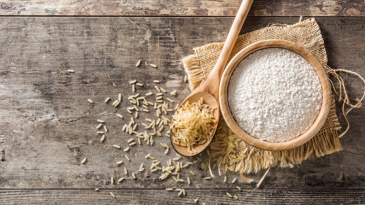 Ricetta farina di riso: come fare la farina di riso fatta in casa