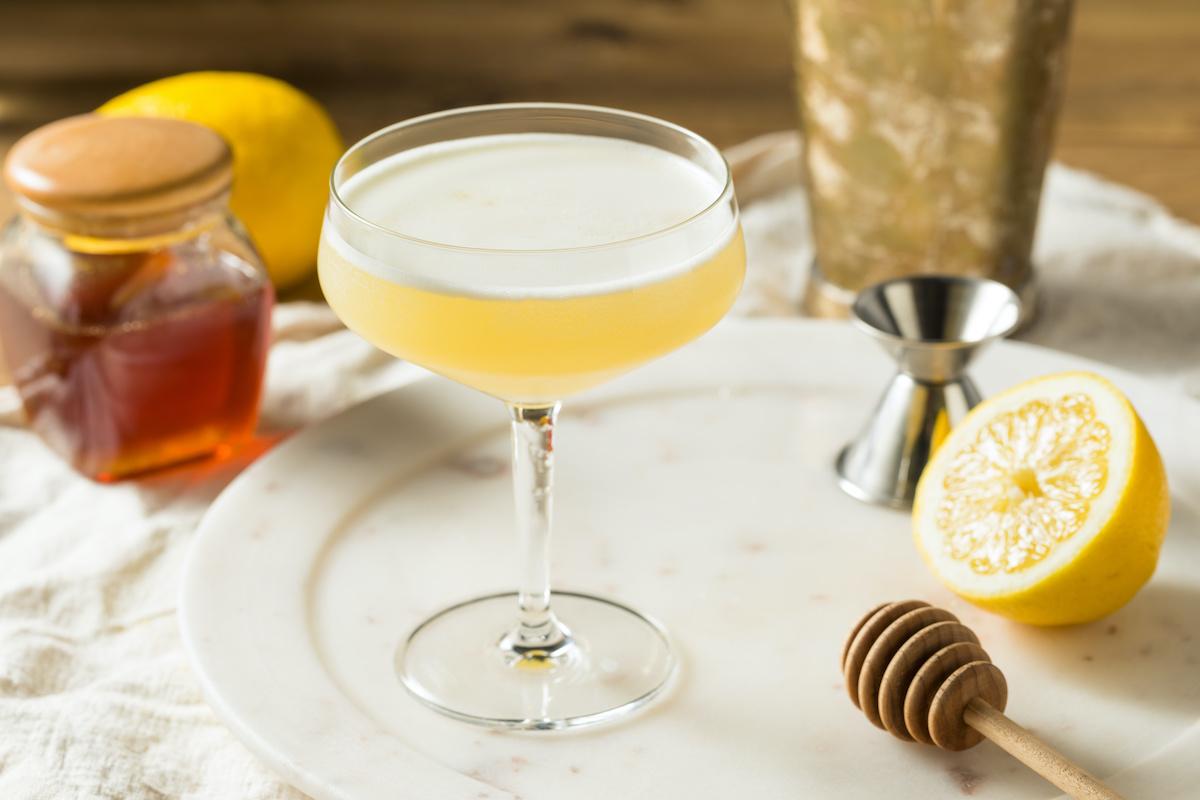 Recette de cocktail classique Bee's Knees