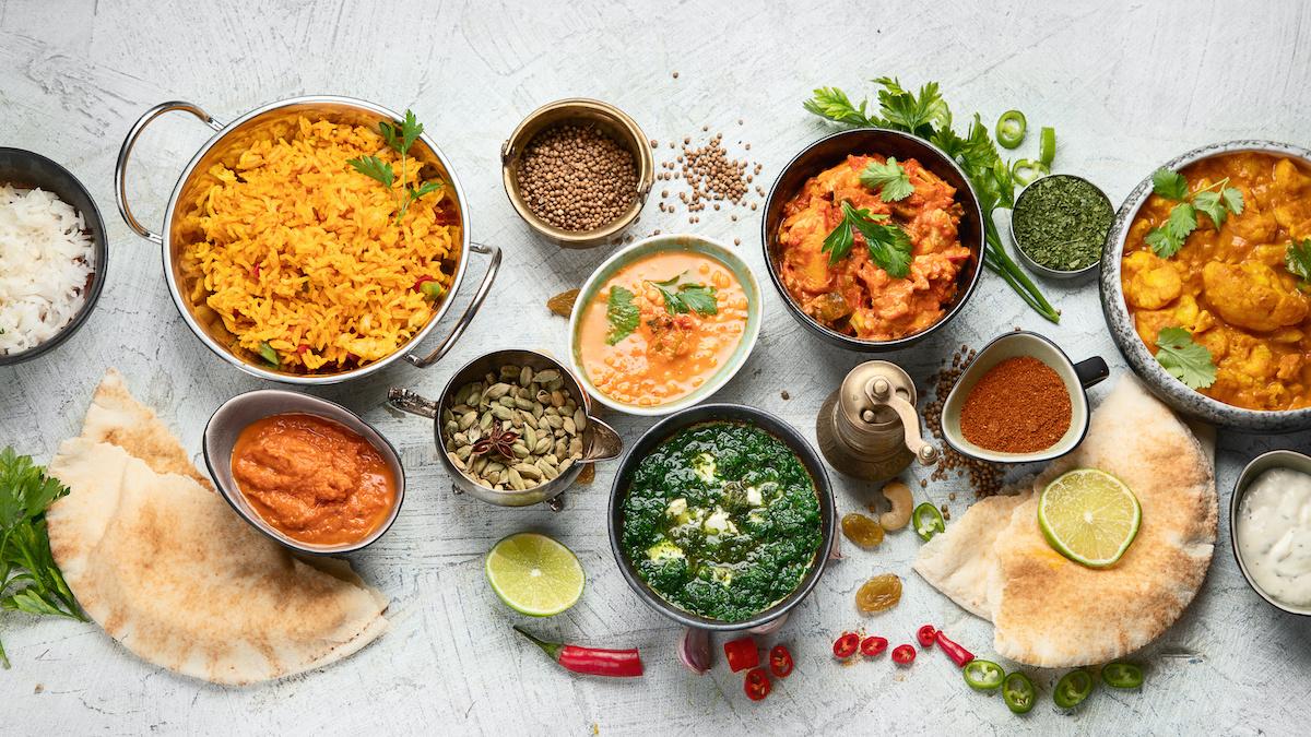 33 ingrédients pour la cuisine indienne traditionnelle