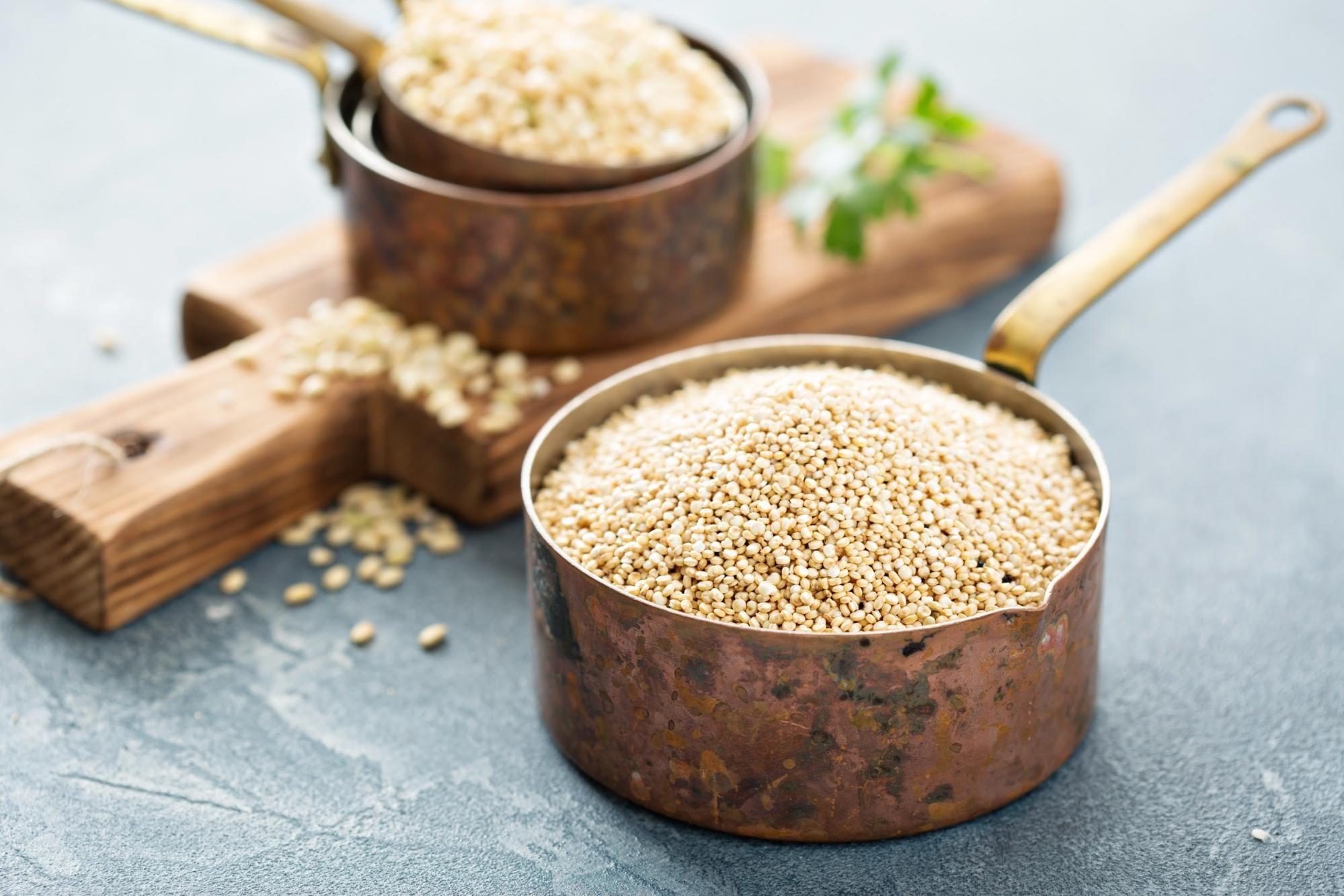 Comment faire cuire le quinoa: conseils et recette facile de quinoa moelleux