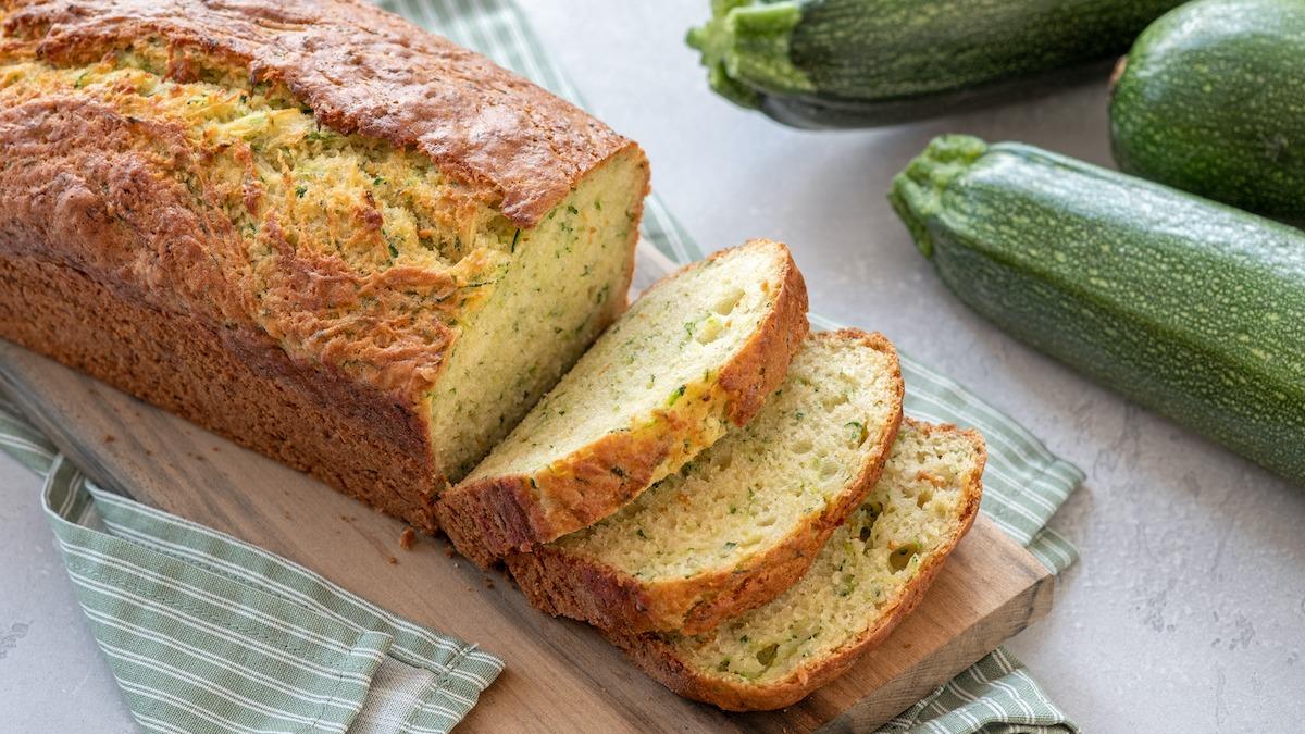 Recette de pain aux courgettes : 4 astuces pour faire du pain aux courgettes