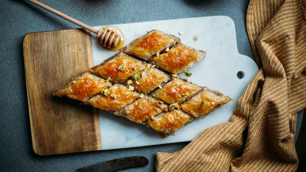 Comment faire du baklava: recette de baklava parfaitement feuilletée