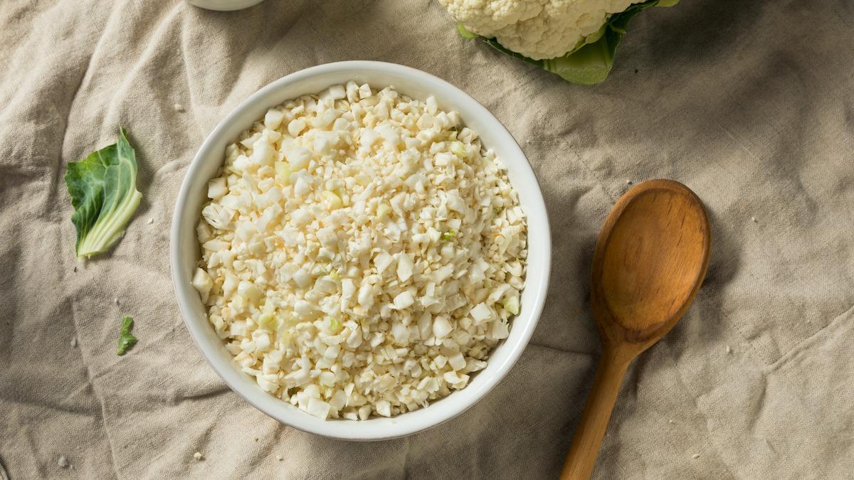 Kako napraviti rižu od cvjetače: Jednostavni recept s cvjetačom