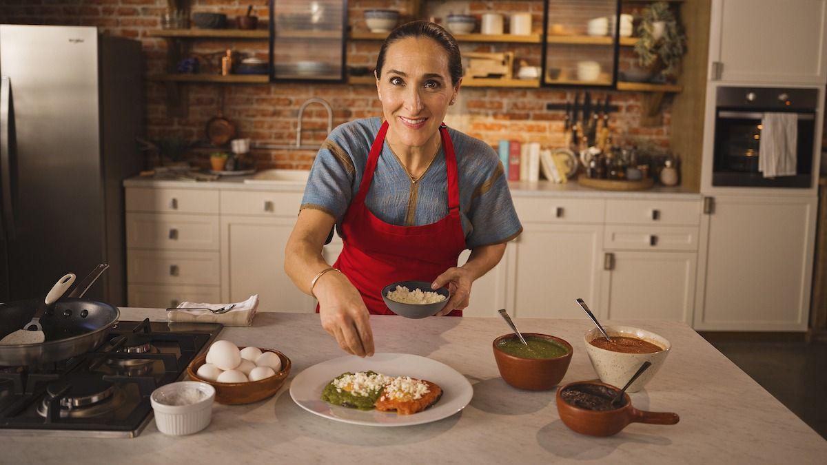 Recette Huevos Rancheros de la chef Gabriela Cámara