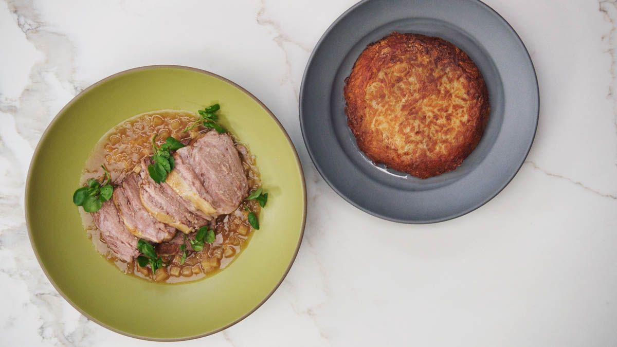 Recept svinjskog ramena chefa Thomasa Kellera à la Matignon (pirjano svinjsko rame)