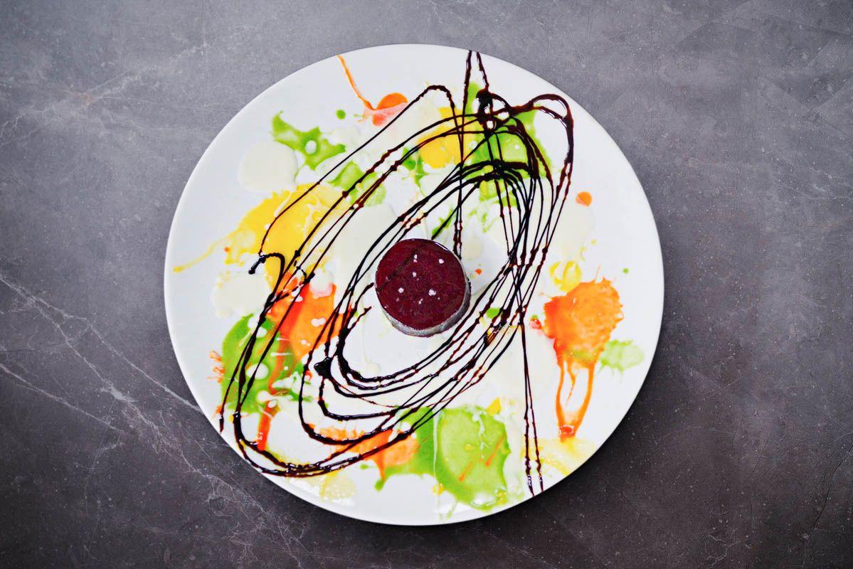 Recept na pečenú omáčku z červeného korenia šéfkuchára Massima Botturu a omáčku zo žltého korenia