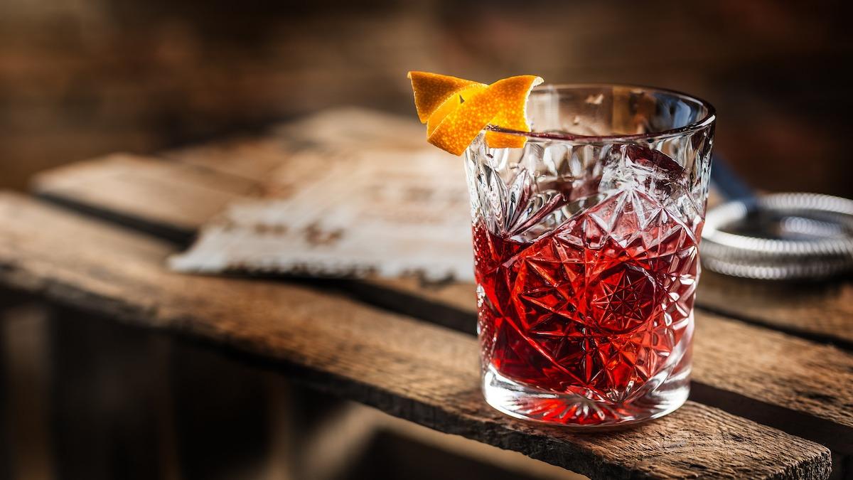 Recette de cocktail classique Negroni