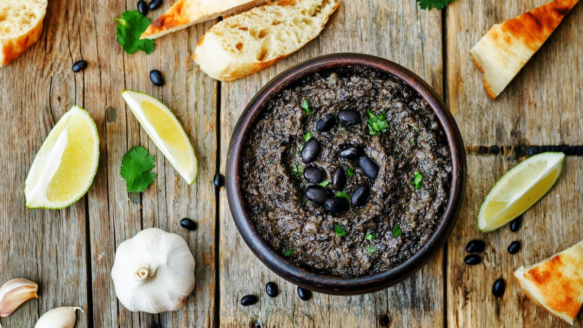 Recette de houmous aux haricots noirs: Comment faire du houmous aux haricots noirs