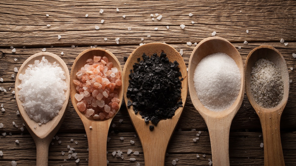 Ako nahradiť soľ: Jednoduchý graf premeny soli