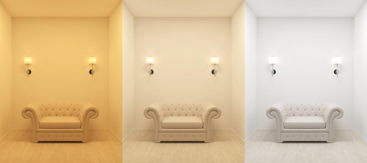 Comment ajuster la température de couleur de la conception d'éclairage d'une pièce