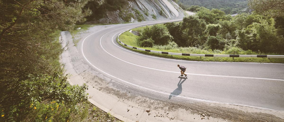 Guia de skate downhill: 6 dicas para skate downhill