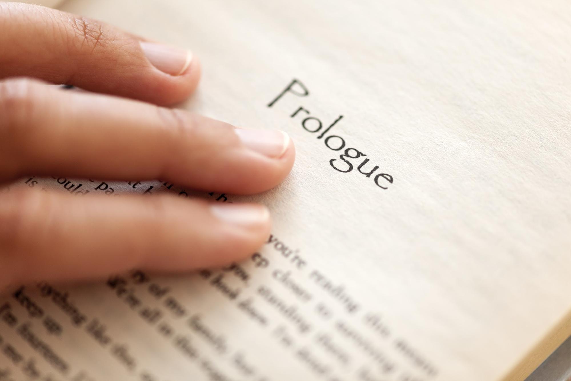 Écriture 101: Comment écrire un prologue