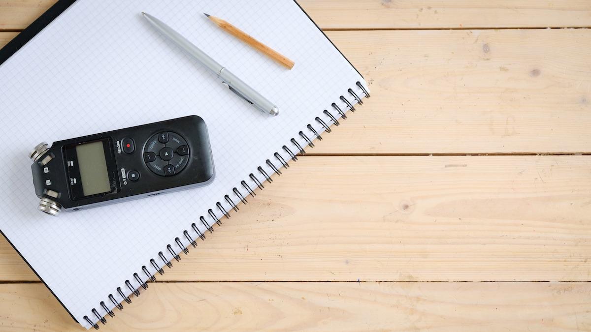 5 façons dont les écrivains peuvent bénéficier de la journalisation audio