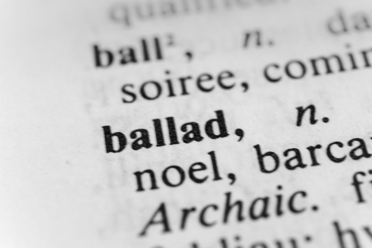 Musique 101: Qu'est-ce qu'une ballade? Apprendre à écrire une ballade avec des exemples